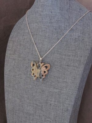 Ivory butterfly