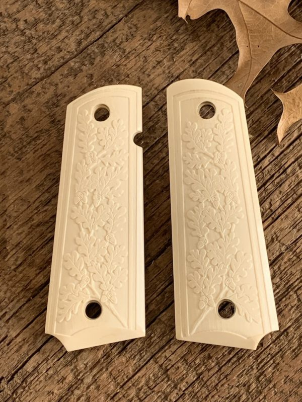 bonded ivory grips